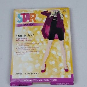STAR POWER BY SPANX HIGH WAISTED MID THIGH SHAPER